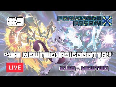 "Building&Testing VGC19 LIVE #3 - ""Vai Mewtwo: Psicobotta!"""