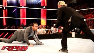 Intercontinental Champion Dolph Ziggler finds a new way to humiliat...