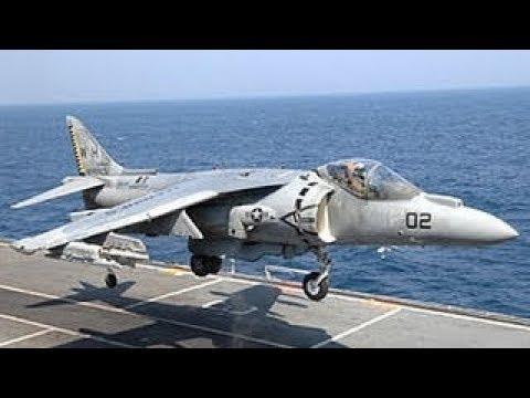Avion de Despegue Vertical: Harrier AV8