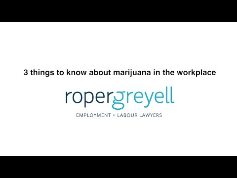3 things to know about marijuana in the workplace (sponsored content)