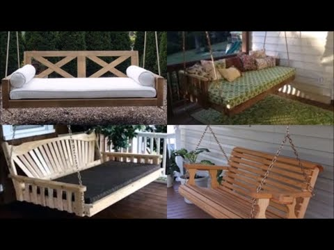 30 Porch Swings made from Wood Pallets