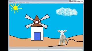 Hoe maak je een windmolen voor kinderen, gemakkelijk en snel, lammetje, wolken, bloemen, rijmpjes