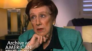 Jean Stapleton discusses Archie Bunker and Carroll O