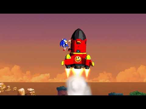 Sonic 4 Episode 1 part 5 (finale): Egg Station Square