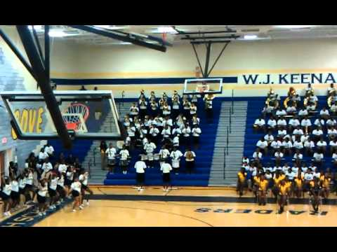 Dillon High School Marching Band at Keenan B.O.T.B