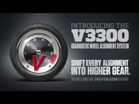 Introducing the John Bean® V3300 Diagnostic Wheel Alignment System