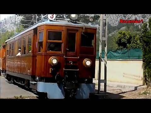 Ferrocarril de s ller roter blitz mallorca for Roter ledersessel