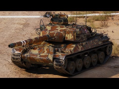 World of Tanks AMX 30 B - 7 Kills 10,2K Damage thumbnail