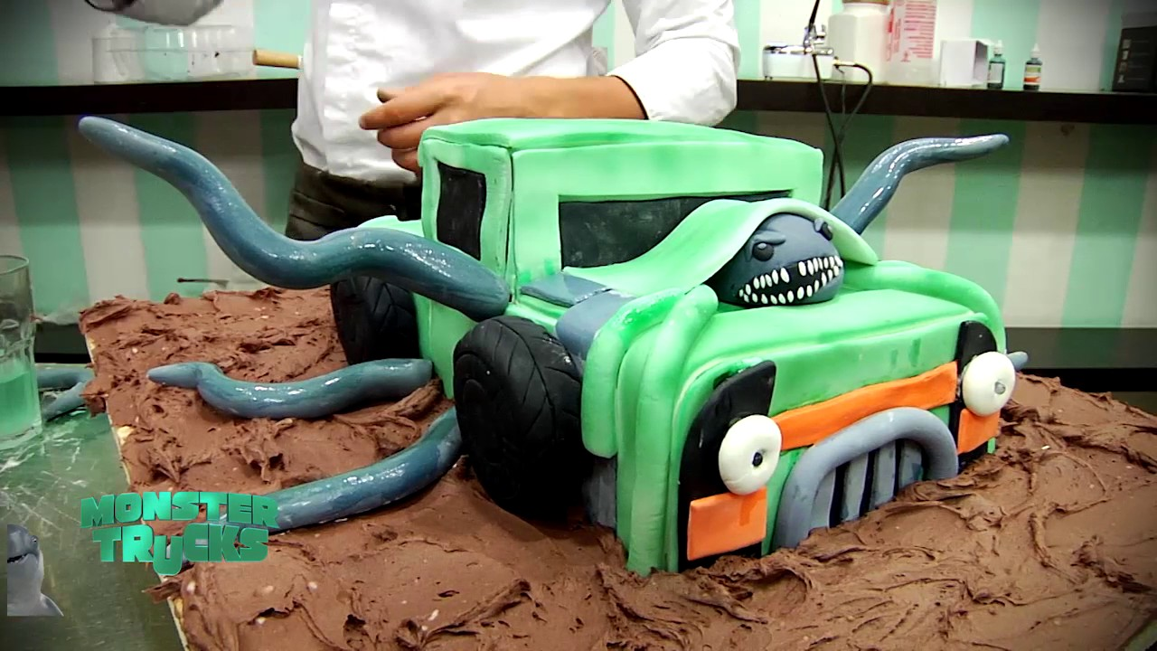 Ignacio Baladan Prepara Torta Alien 237 Gena Por Monster