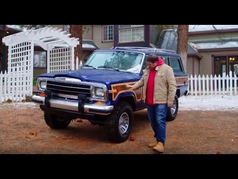 Découvrez le résultat de la rénovation d'une Jeep Wagoneer