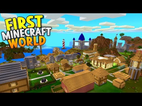 My Very First Minecraft World! - World Tour