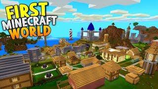 My Very First Minecraft World! - World Tour