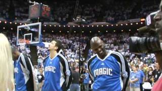 Amazing 7 year old Gina Marie Incandela performs at NBA Playoff Magic vs. Celtics