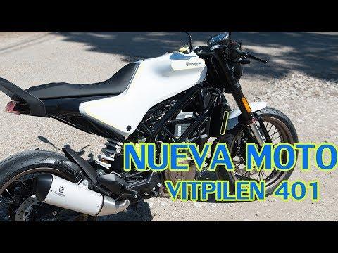 NUEVA MOTO - Husqvarna VITPILEN - Husky Urban