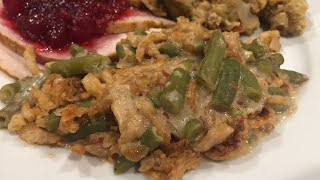 Instant Pot Green Bean Casserole ~ Thanksgiving Recipes !