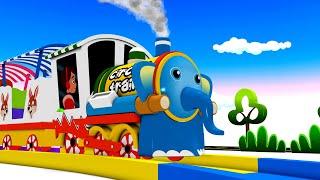 Choo Choo Toy Train Cartoon: Toy Factory Cartoon Videos for Kids - Cartoon Cartoon