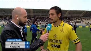 Modena vs Reggio Audace - Intervista Berni e Rabiu