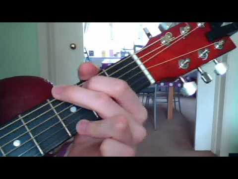How To Play The Travelling Song Chords On Guitar Youtube