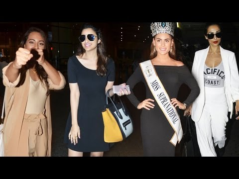 Sonakshi Sinha, Parineeti Chopra And Others Travel In Style!