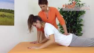 Cvičení ulevující od bolesti zad
