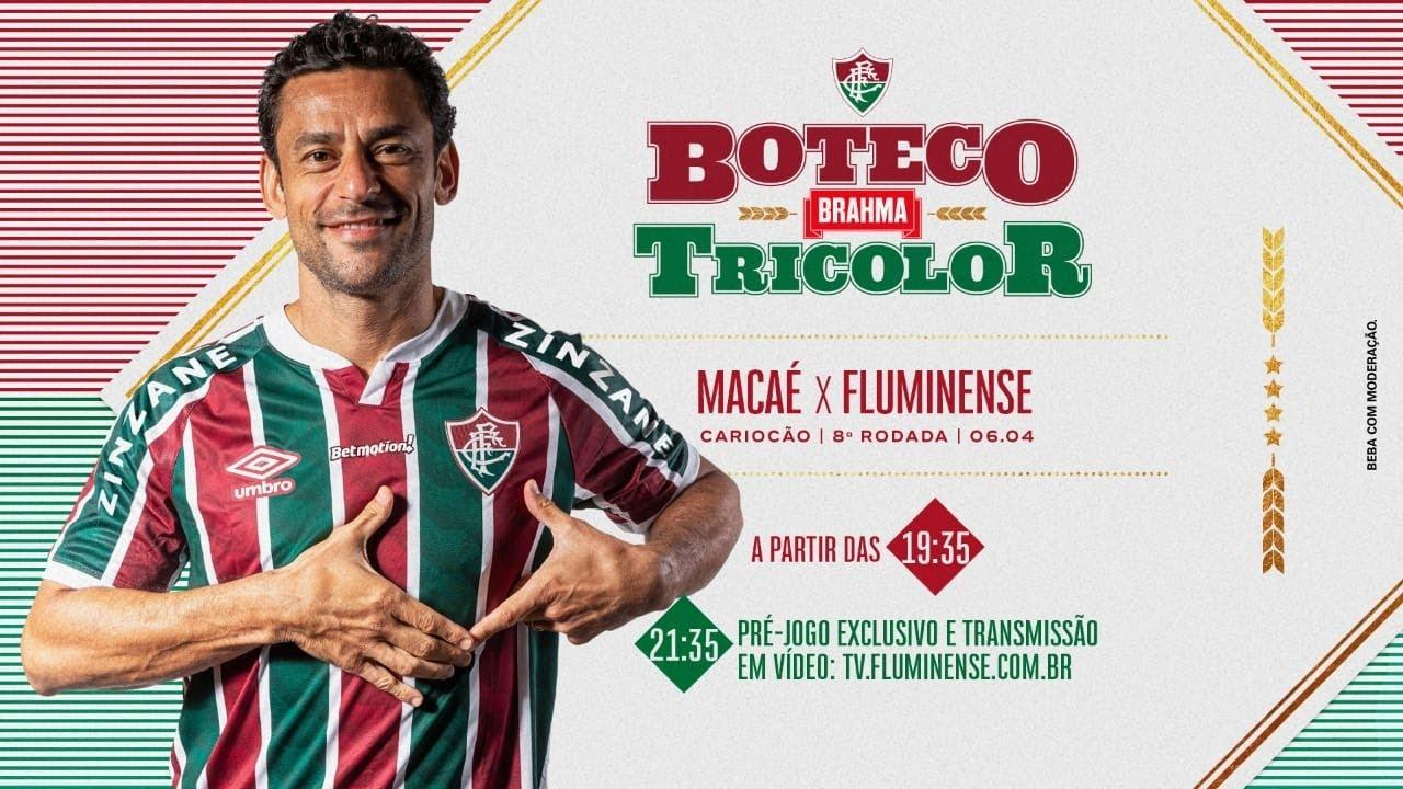 Flutv Ao Vivo Macae X Fluminense Com O Boteco Brahma Tricolor Youtube
