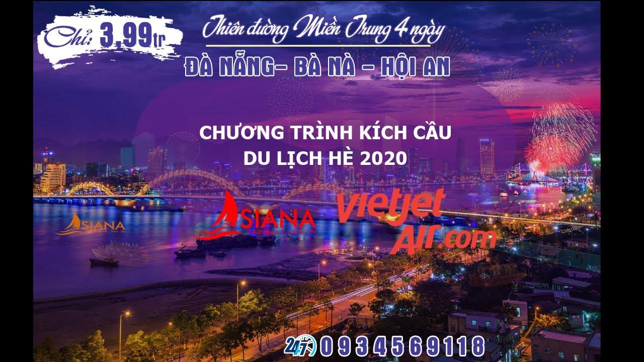 Đà Nẵng Overview - Chương trình kích cầu du lịch 2020
