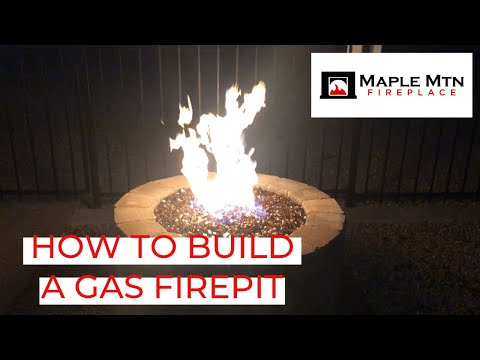How To Build A Gas Firepit