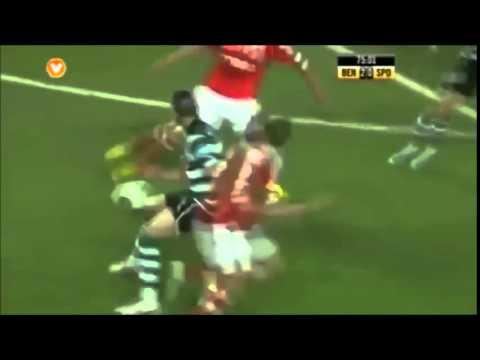 Amazing Benfica Team Goal
