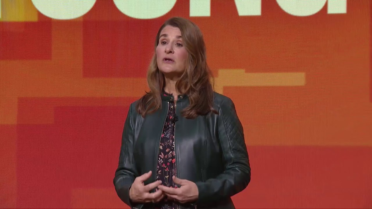 Goalkeepers18 | Melinda Gates on Why the World Should Support Young Leaders  - YouTube
