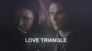 stelena/delena - love triangle