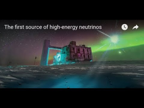 The first source of high-energy neutrinos