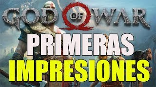 GOD OF WAR PRIMERAS IMPRESIONES