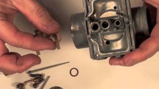 mikuni carb series 3 assembly video with details