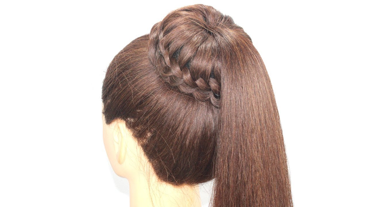 Open Hairstyle || latest hairstyle || party hairstyle || Ponytail hairstyle for open hair |hairstyle