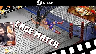 Fire Pro Wrestling WORLD [ONLINE CAGE MATCH] - Cheeky or Cheap?!
