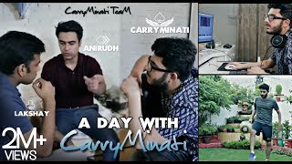 A Full Day with Carryminati | Full Interview | Ajay Nagar |Beckstage with Carryminati |
