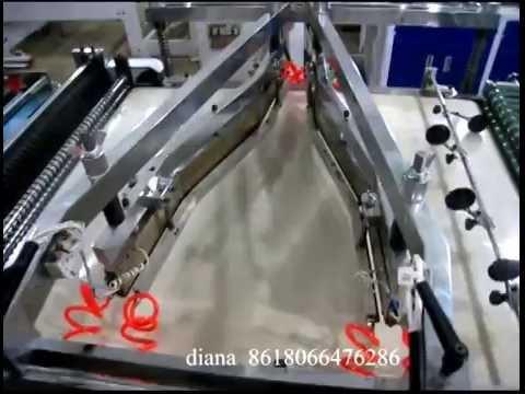 Newest flower bag making machine