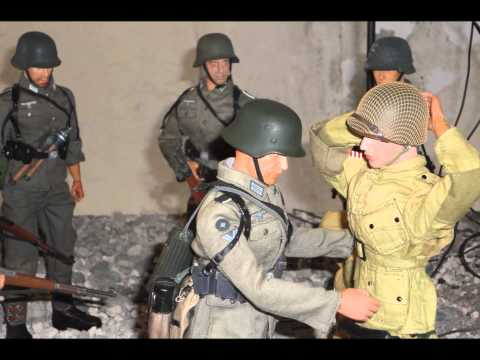 Diorama 1/6th scale: World War II (Battle in France) 2013