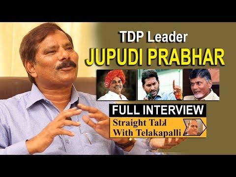 TDP Leader Jupudi Prabhakar Exclusive Interview | Straight Talk with Telakapalli