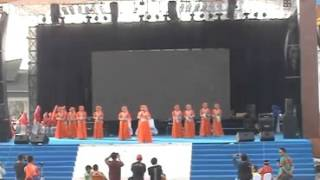 juara 1 festival qasidah nasional putri sumut Lisani Bi Hamdillah