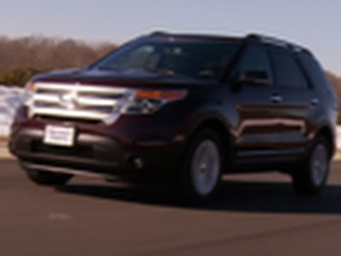 2011 Ford Explorer first drive from Consumer Reports