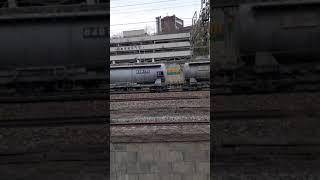 화물열차 통과영상 띵똥일기 21년 2월 3일 수요일
