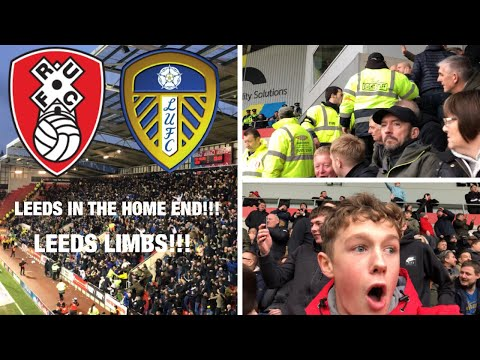 Rotherham vs Leeds *VLOG* ITS ALL KICKING OFF!!!
