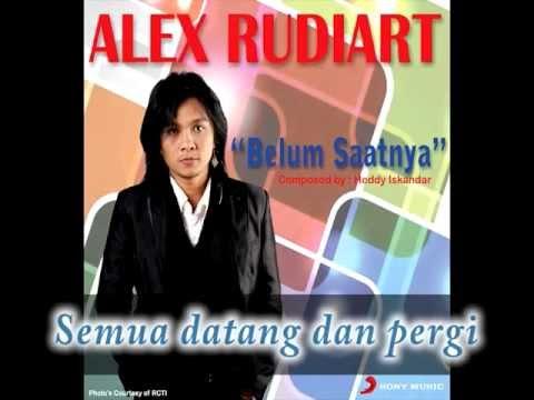 ALEX RUDIART - Belum Saatnya (Lyrics Video)