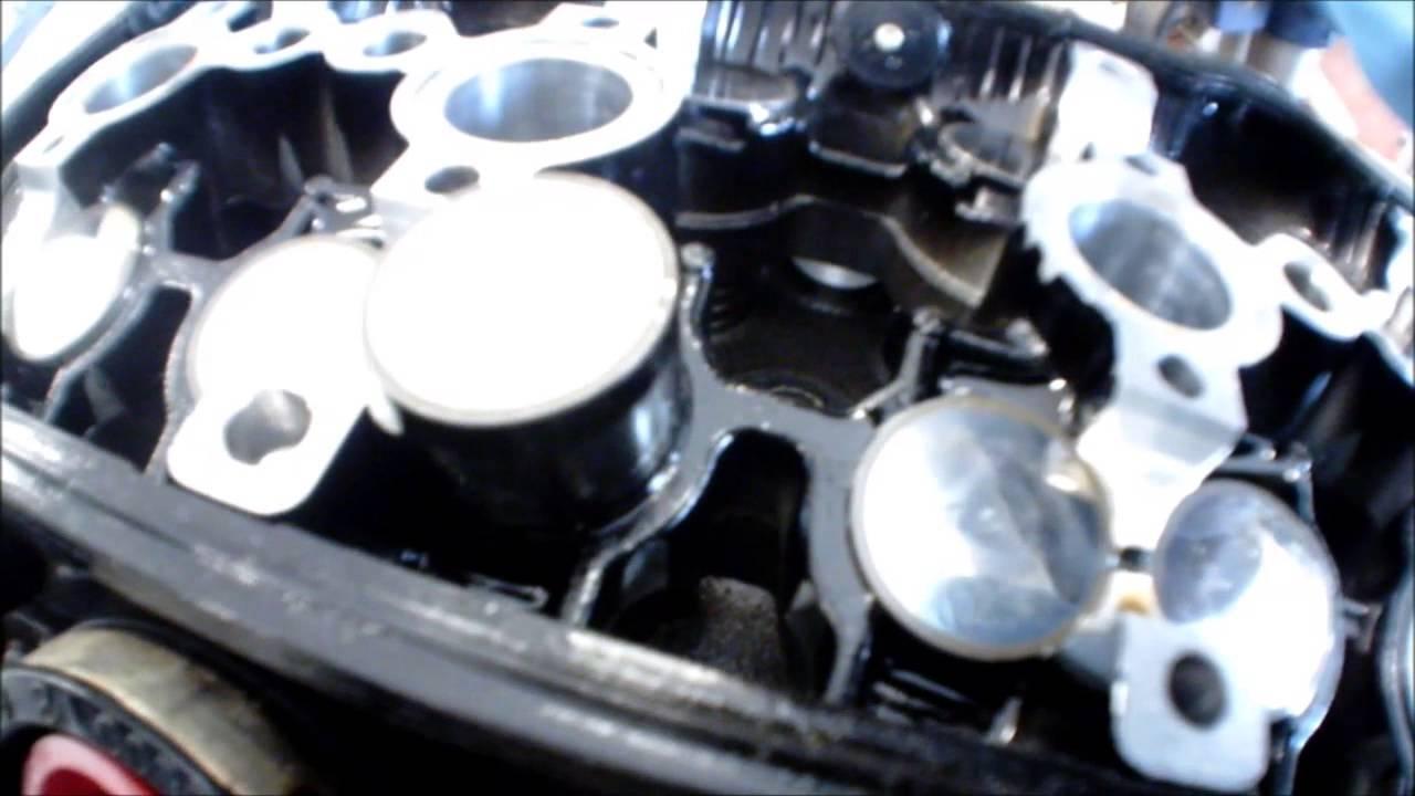 zxr engine rebuild part  youtube