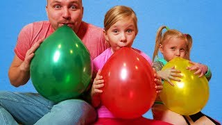 Learn colors with Balloons and more nursery rhymes songs for children