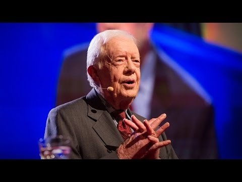Video image: Jimmy Carter: Why I believe the mistreatment of women is the number one human rights abuse
