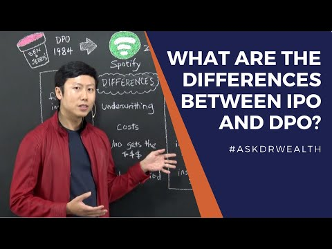 What are the differences between IPO vs DPO | #AskDrWealth