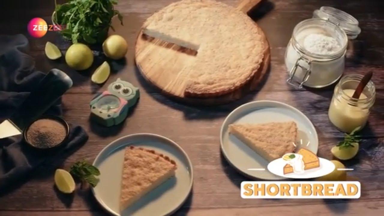 How To Make Lemon & Khus Khus Shortbread - Scottish Style Shortbread With A Twist - Zee Zest