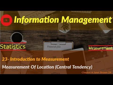information Management 12 ( measurement part 1)
